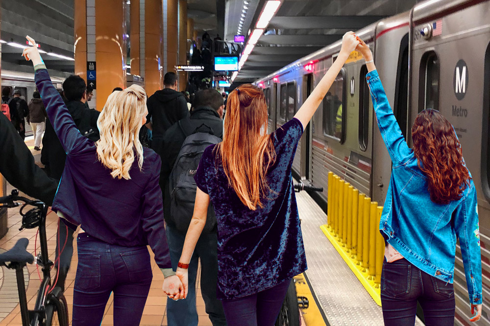 The 11 Kinds of People You See on the LA Metro - the Gossip Girls