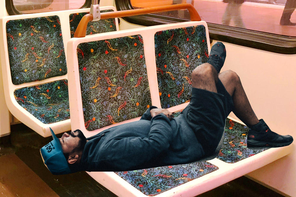 The 11 Kinds of People You See on the LA Metro - the Guy Who Thought He Paid for Two Seats