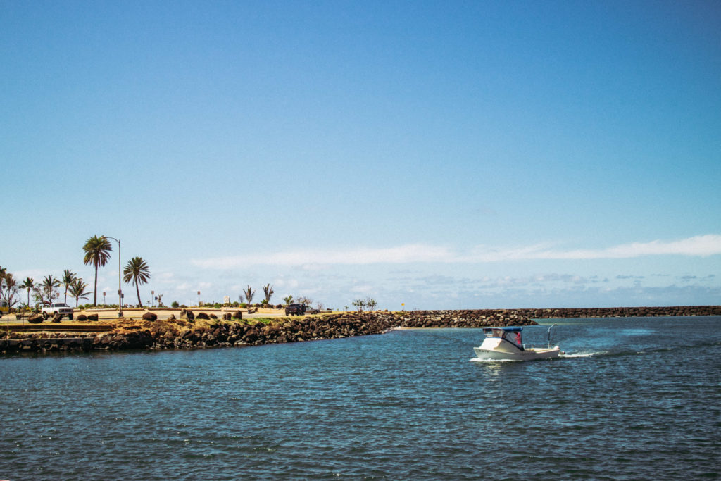 How to spend a day on the North Shore of Oahu - Haleiwa Boat Harbor