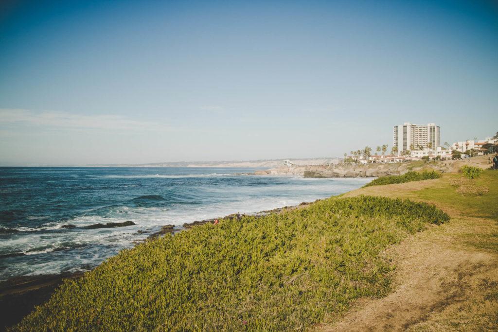 La Jolla Coves - Cliffside View