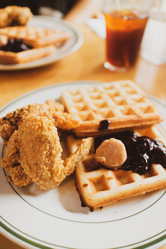 Where to Eat One Day in Brooklyn: Chicken and Waffles at Pies n Thighs