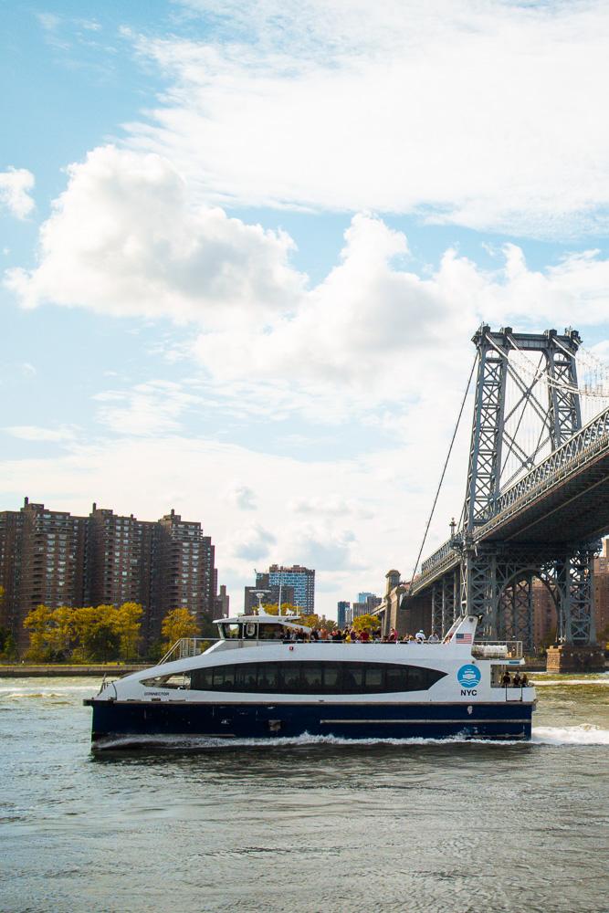 The Ferry in Williamsburg Brooklyn New York
